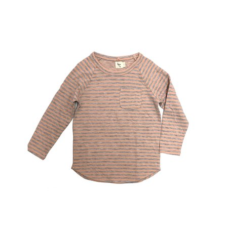 KIDS nico nico Perry Raglan T-Shirt - Petal/Heather