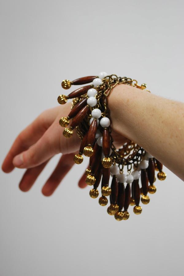 Norwegian Wood Bead Bracelet