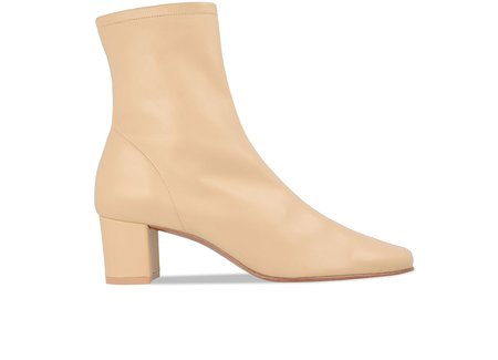 By Far Shoes Sofia - Cream Leather