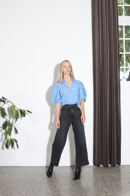 Rachel Comey Amplus Top - BLUE