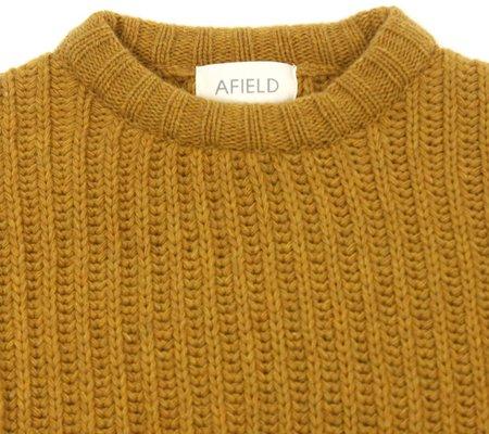 Far Afield Tanner Ribbed Knit - Honey Mustard
