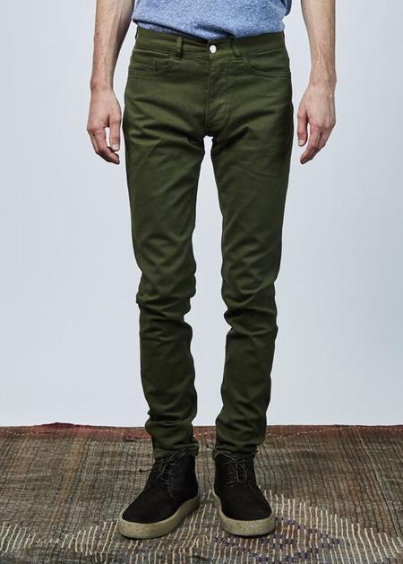 Homecore Tilia Slim Pant - Olive Green