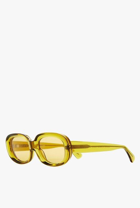 Crap Eyewear The Bikini Vision Sunglasses - Mustard