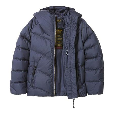 KIDS Finger In The Nose Snowdance Down Winter Jacket - Navy