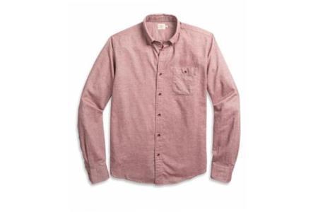 Faherty Brand Pacific Shirt - Burgundy