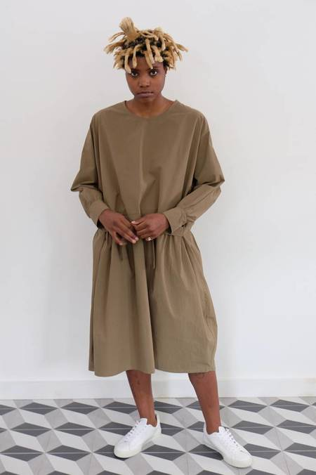 Priory Kise Poplin Tie Option Dress