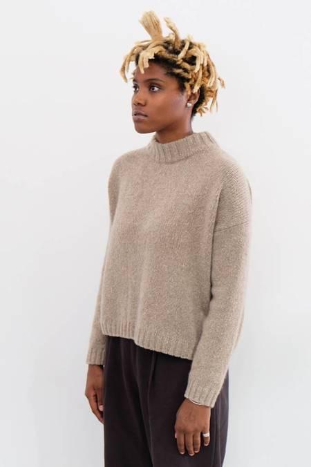 Evam Eva Soft Cashmere Pullover - Beige
