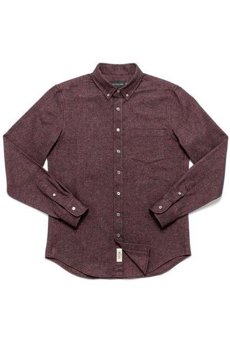 Outclass Flannel Shirt - Merlot