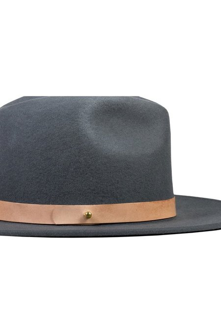Lack of Color The Rocco Hat - Charcoal Grey