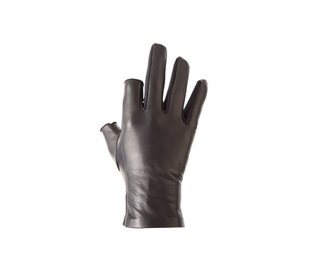 Unisex AH, OKAY! Two Layers Glove - black