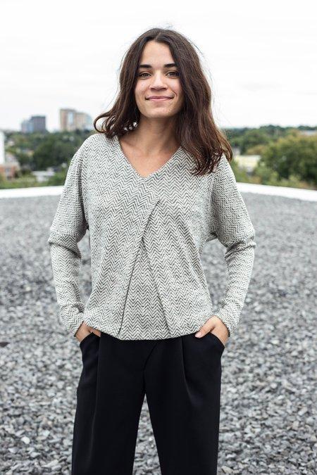 Valérie Dumaine Arman Top - Natural