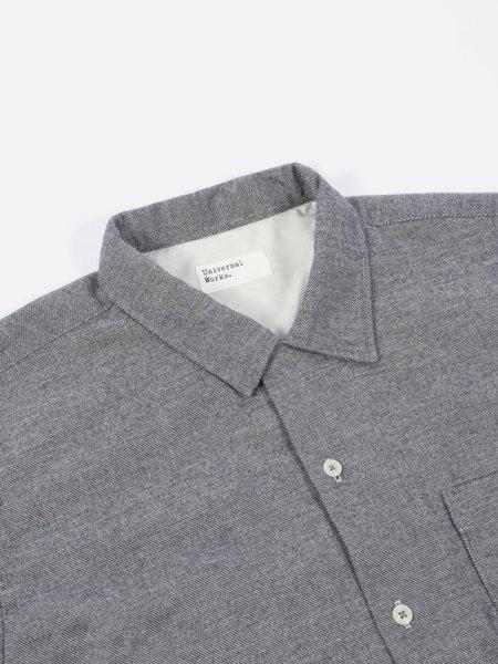 Universal Works Garage Shirt - Navy