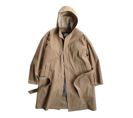 Still By Hand Trench Coat with Detachable Lining - Beige