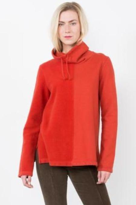 Prairie Underground Round Trip Pullover Sweatshirt - Electric Red