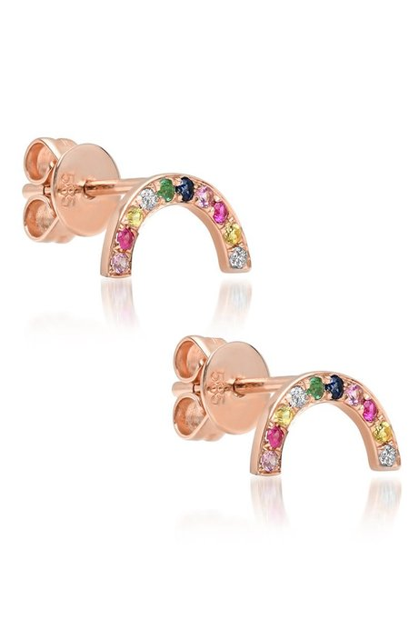 Shain Leyton Rainbow Arch Earrings