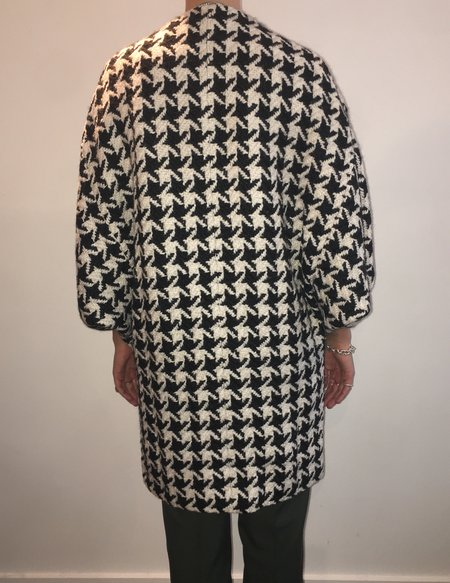 Connesse Car Coat - Herringbone