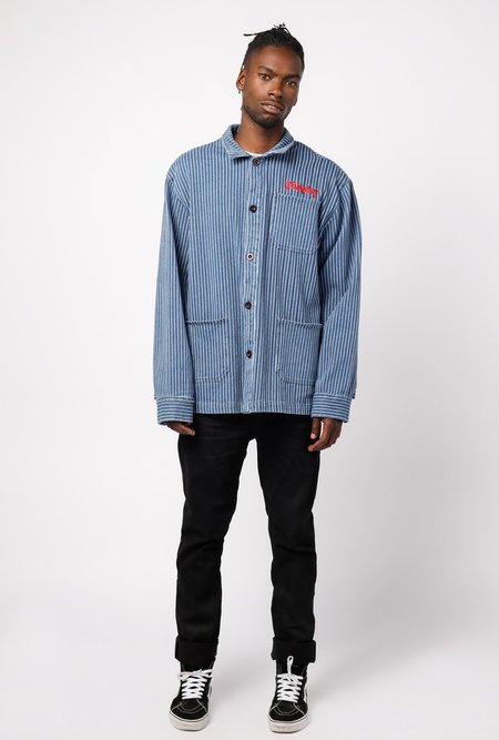 Fairplay Jens Coach Jacket - Light Indigo