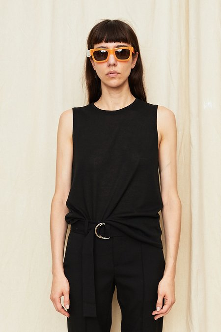 Assembly New York Knit Muscle Tee - Black