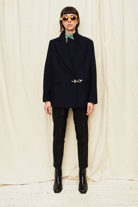 Assembly New York Wool Blazer - Navy