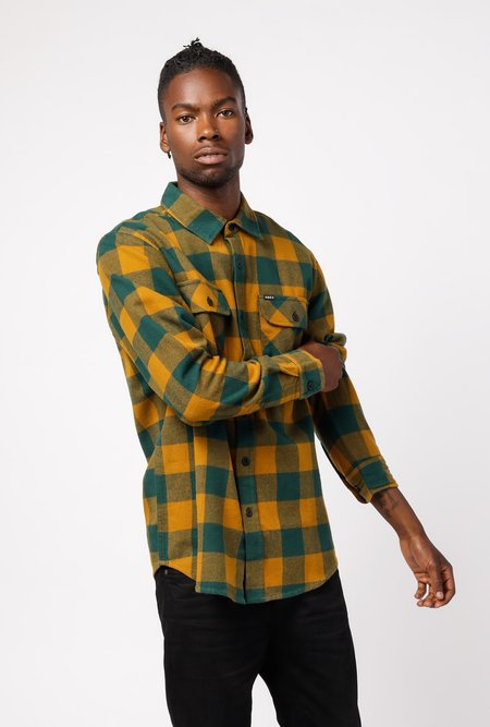 Obey Vedder Woven Shirt - Teal