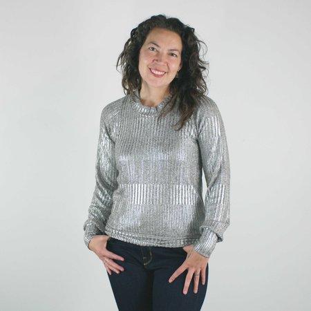Allison Wonderland Rijk Sweater - Metallic