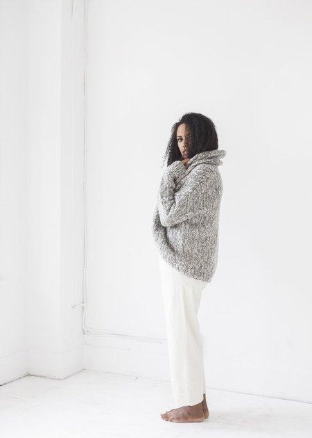 Line Knitwear Alexandra SWEATER - Mineral