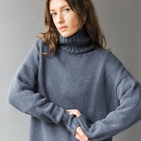 Bare Knitwear Traditional Turtle Neck