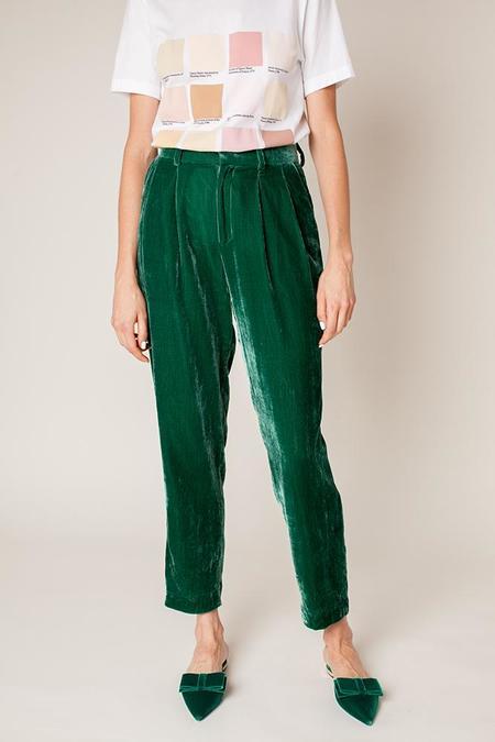 Rachel Antonoff Bea Suit Pants - Jade