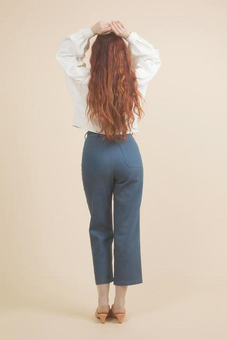 Samantha Pleet Chorus Jeans - Ultramarine denim