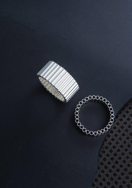 Karla Olsakova Organic Ring - Silver