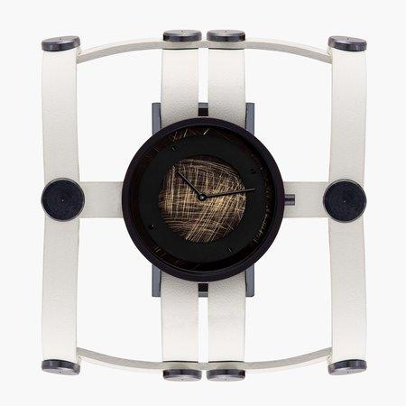 South Lane + Aumorfia Collaboration Double Emerge Watch - Off-white