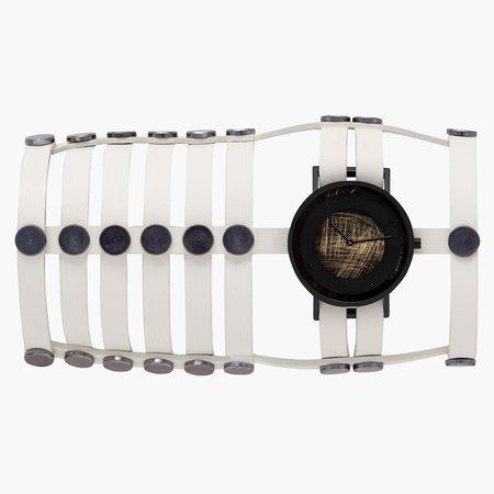 South Lane + Aumorfia Collaboration Triple Emerge Watch - Off-white