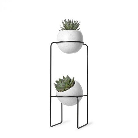 UMBRA Nesta Tiered Planter - White Speckled