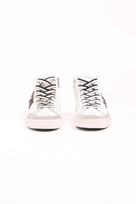 Leather Crown Donna Camo Hightop Sneaker - Camo