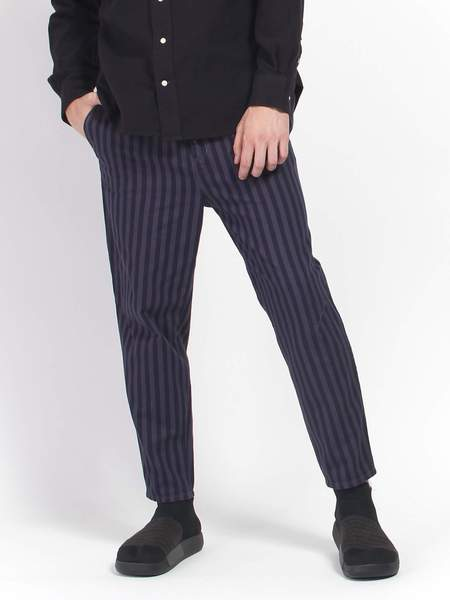 Gustav Von Aschenbach Striped Cotton Pant