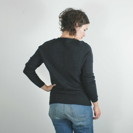 Erdaine Mae Sweater - Charcoal