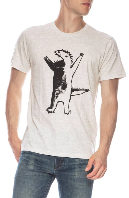 THE ART OF SCRIBBLE Dino T-Shirt - 1% MELANGE