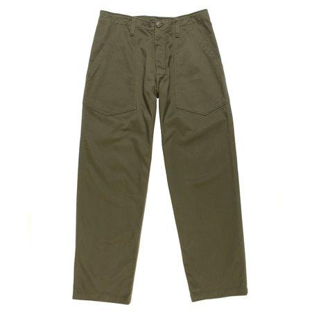 Monitaly Fatigue Pants - Olive Vancloth