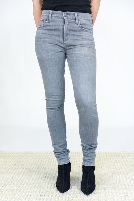 Citizens Of Humanity Sculpt Rocket High Rise Skinny Jeans - Statuette