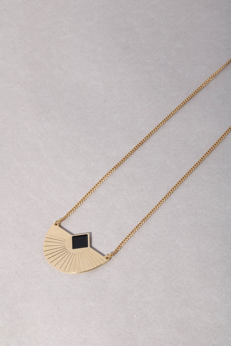 Anne Thomas Cuzco Necklace - Black