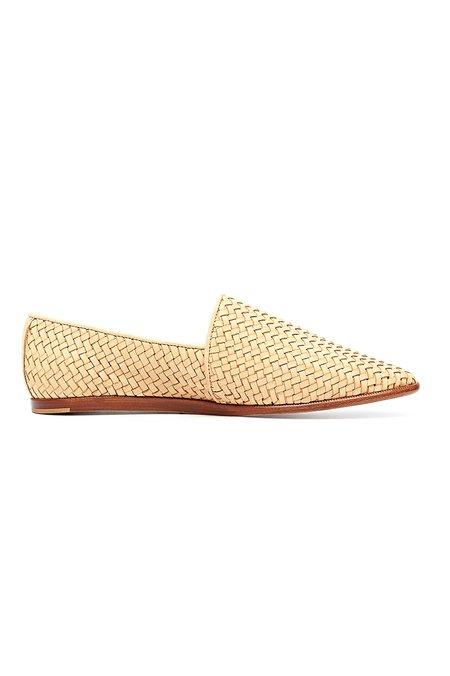 Nisolo Nora Slip On Shoe - Beige