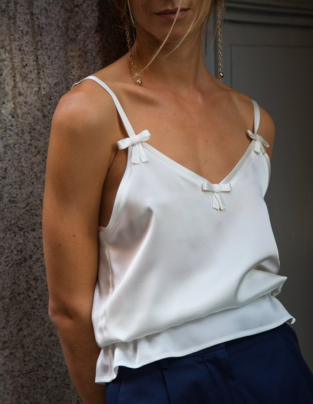 Son Trava Liudmila Top - white