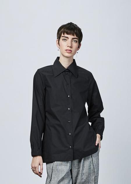 Fabiana Pigna Maxima Button Up Shirt - black
