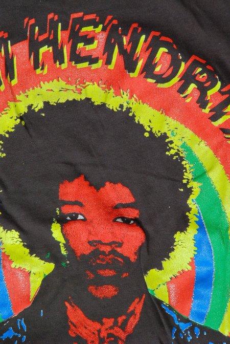 Unisex MadeWorn Jimi Hendrix T-shirt - Dirty Black