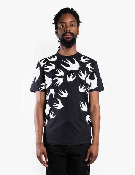 McQ Alexander McQueen Swallow Signature T-Shirt - black