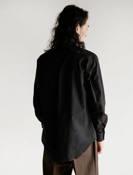 Cobra SC Hidden Button Twill Shirt - Black