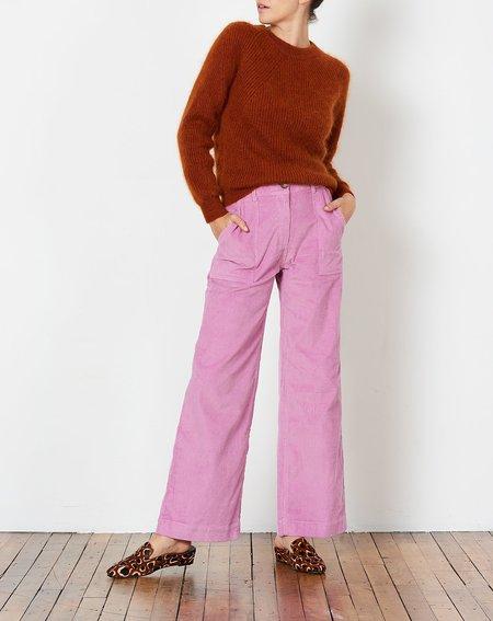 Rachel Antonoff Romeo Wide Leg Pant - Lavender