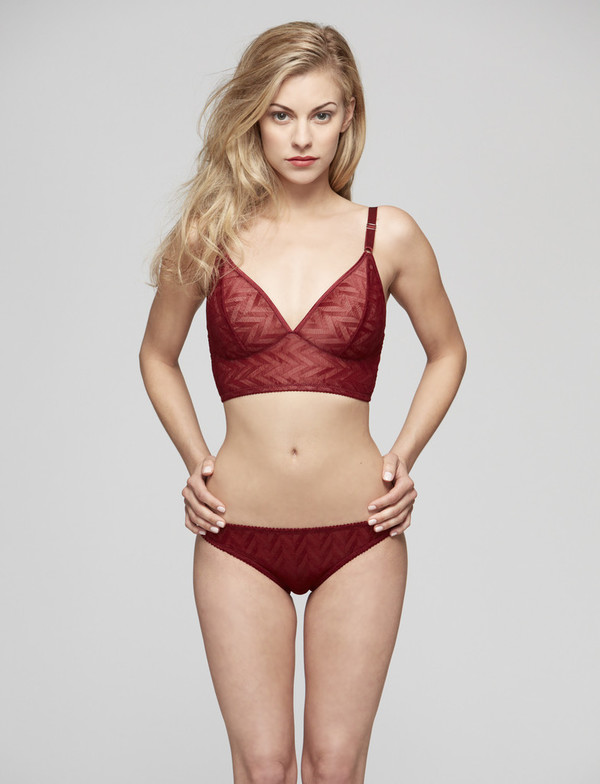 Fortnight Vega Long Line Bralette