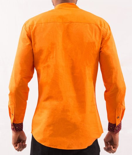 Omenka Shirt - Orange Pattern