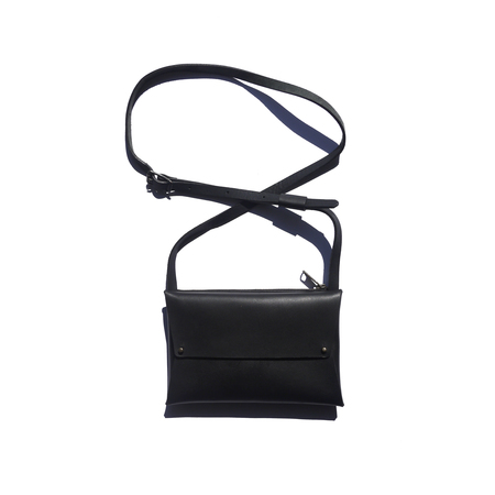 AW by Andrea Wong DBL ENVELOPE PURSE - BLACK
